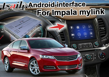 चीन Chevrolet Impala Android Navigation Box , Wifi Mirror Link real time Navigation आपूर्तिकर्ता