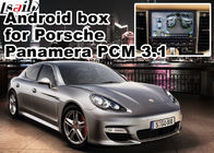 चीन Android GPS navigation box for Porsche Macan Cayenne Panamera PCM 3.1 Andrid app 360 panorama etc कंपनी