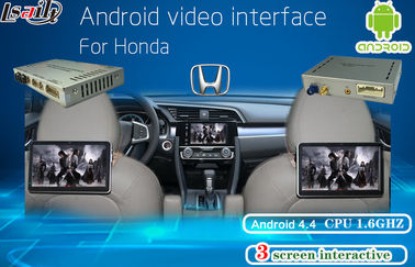 चीन Honda Multimedia Video Interface Android Navigation , Headrest Dispaly , Mobile Phone Mirrorlink फैक्टरी