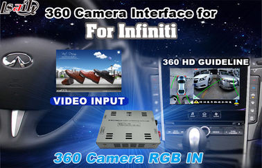 चीन CCC CE Certificate HD Reverse Camera Interface For Infiniti Q50/Q50L/Q60 , 100*80*30MM फैक्टरी