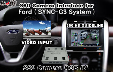 चीन  Bluetooth Reversing Camera Interface For 360 Degree Camera , Android Navigation वितरक
