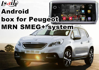 चीन Peugeot SMEG+ MRN GPS Navigation Box WiFi Android Car Navigation Video Interface वितरक