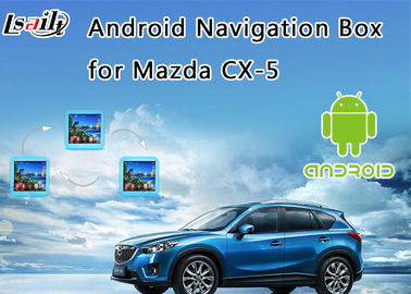 2014-2017 Mazda CX-5 Android 6.0 Interface Navigation Box with On line map (Google/waze)