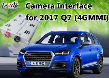 चीन Dynamic Parking Guideline Reverse Camera Interface for AUDI Q7 support 360 Panorama Cameras वितरक