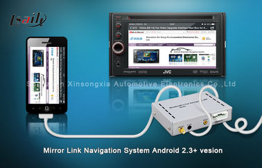 चीन Car DVD JVC Mirror Link Box / GPS Navigation Boxes For Pioneer with Bluetooth वितरक