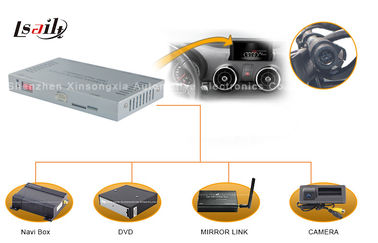 चीन Audi Multimedia Interface with Android / Windows CE Navi , Rearview Camera , Mirrorlink वितरक