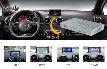 चीन 2012 - 2016 Audi A1 / Q3 Media Interface with Touch Navigation and DVD वितरक